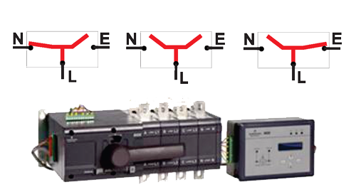 ASCO 230 Series Low Voltage Automatic Transfer Switch Image