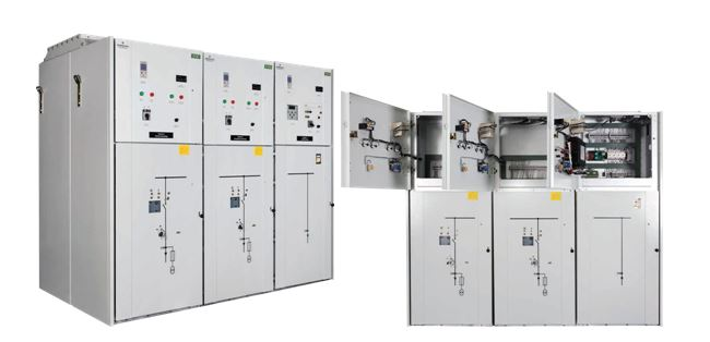 ASCO 7000 Series IEC Medium Voltage Power Transfer Switch Image